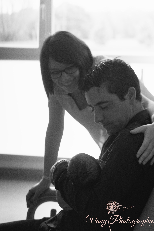 séance à la maternité de Mayenne