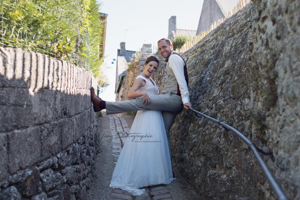 Photographe mariage Sainte Suzanne